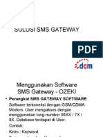 Proposal SMS Gateway - SendQuick
