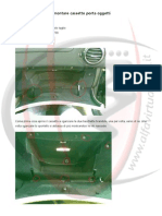 Alfa 147 - Smontare cassetto porta oggetti