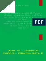 Unidad III - Información Económica - Financiera Básica#1