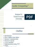 Parasitic computing