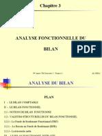 Chapitre 3 - Analyse fonctionnelle du bilan (1)