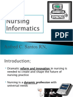 Nursing Informatics lecture anfred