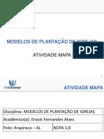 TEOLOGIA UNICESUMAR - MODELO DE PLANTAÇÃO DE IGREJAS - SLIDE 04
