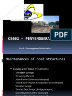 Introduction Maintenances Of Road Structure