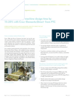 Pavan Group cuts machine design time by 15-20% with CreoTM Elements/DirectTM from PTC