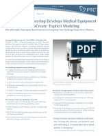 Livengood Engineering Develops Medical Equipment 3x Faster with CoCreate® Explicit Modeling