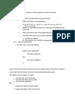 File Comparison in OS