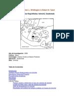 Análisis de Esqueletos Kaqchikeles Iximché Guatemala
