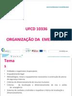 10336 Organização da Emergência