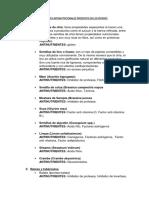 FACTORES ANTINUTRICIONALES PRESENTES EN LOS PIENSOS