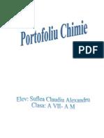 Portofoliu Chimie clasa a VII-a