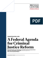 A Federal Agenda for Criminal Justice Reform
