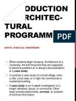 Architecture Programming 2