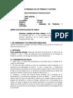 MODELO DE DEMANDA CIVIL DE TENENCIA Y CUSTODIA2