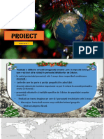 PROIECT - Calatorie prin orașele lumii de Crăciun