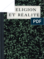 Religion Et Realite / Sâdhou Sungar Singh