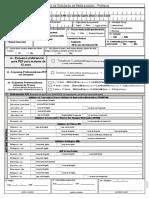 Formulário de Dispensação de PEP 2017