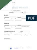 PROCES VERBAL DE PREDARE-PRIMIRE AUTOVEHICUL