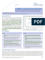 2015 Cascio the promises and pitfalls of universal early education