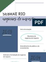 Apresentação Juliana Oliveira - Sebrae Rio