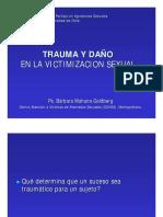 09.06.01 TRAUMA Y DAÑO EN VICTIMIZACION SEXUAL