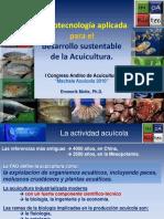Biotecnologia acuicola
