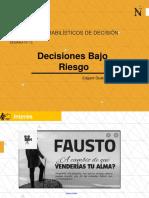 S15 - Teoría de Decisiones - Riesgo