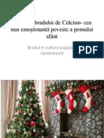 Bradul în cultura populară românească