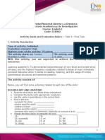 Activity Guide and Evaluation Rubric - Unit 1, 2 and 3 - Task 9 - Final Task
