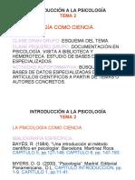 introduccion PSICOBIOLOGIA
