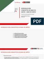 1_Introd. Conc. Base Datos -1- Geomatica - Sesion 01