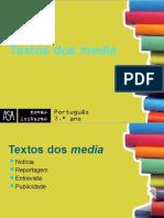 Textos dos _Media_