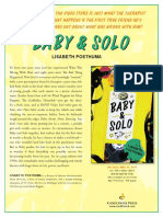 Baby and Solo by Lisabeth Posthuma Author's Note