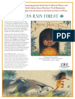 Zonia's Rain Forest by Juana Martinez-Neal Press Kit