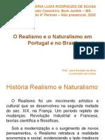 O Realismo e o Naturalismo Em Portugal e No Brasil