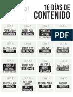 Material Curso de Redes Sociales para Iglesias y Ministerios - Creado por Iglesia Digital