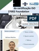 Certificação Profissional ISO 27002 Foundation