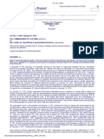 COMMISSIONER OF CUSTOMS v. COURT OF APPEALS