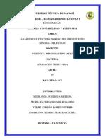 Análisis del ICE como ingreso del Presupuesto General del Estado