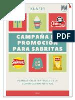 (KLAFIR) - Campaña de promoción (SABRITAS)