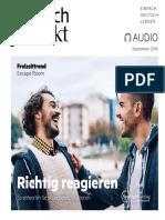 Deutsch perfekt Audio 2016 09