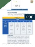 Planificador de Actividades Semana 36. 1 y 2 Grado Docx