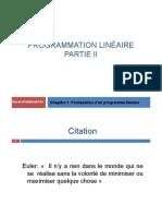Programmation linéaire_modélisation_Partie II