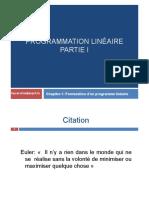 Programmation linéaire_modélisation_PartieI1