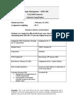 GBUS406-Strategic ManagementFall2010 Final Project rev