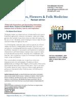 Polish Herbs, Flowers & Folk Medicine revised edition press release