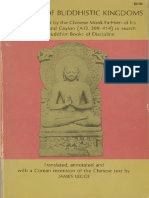 A record of Buddhistic Kingdoms  being an account by the Chinese monk FaÌ'-Hien of his travels in India and Ceylon (A.D. 399-414) in search of the Buddhist books of discipline   translated and annotate (z-lib.org)