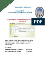 Guia de LAb N° 4 de Sistema de Control II  Controlabilidad