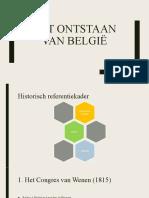 5 Het Ontstaan Van België