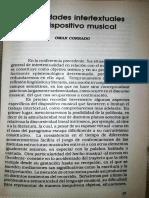 CORRADO, O. - Posibilidades intertextuales del dispositivo musical 1